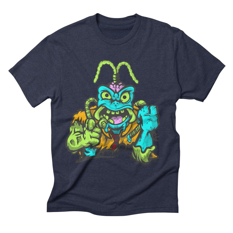 Scum Bug Men's Triblend T-Shirt by Payback Penguin