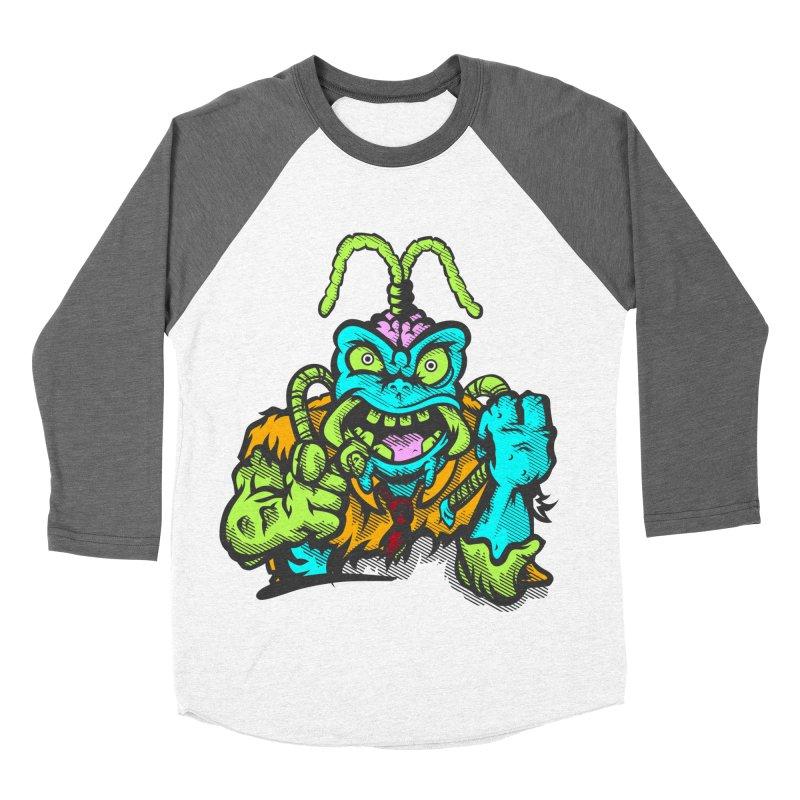 Scum Bug Women's Baseball Triblend Longsleeve T-Shirt by Payback Penguin