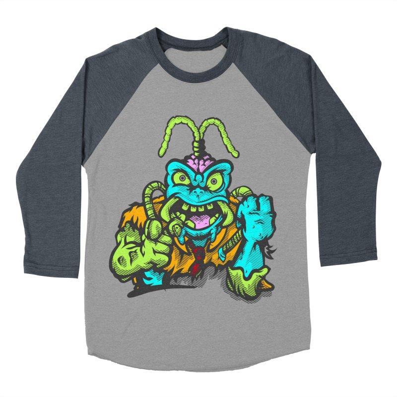 Scum Bug Men's Baseball Triblend Longsleeve T-Shirt by Payback Penguin