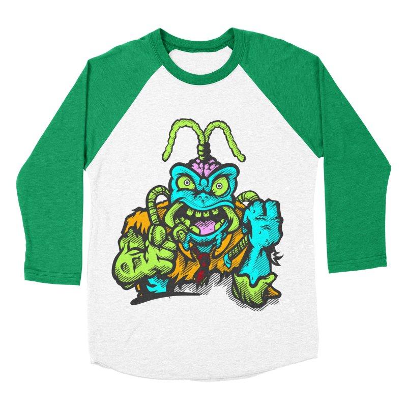 Scum Bug Men's Baseball Triblend T-Shirt by Payback Penguin