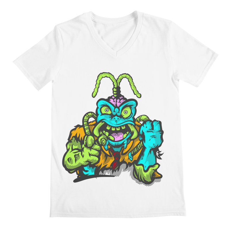Scum Bug Men's V-Neck by Payback Penguin
