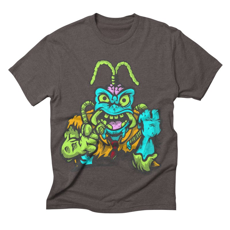 Scum Bug Men's Triblend T-shirt by Payback Penguin