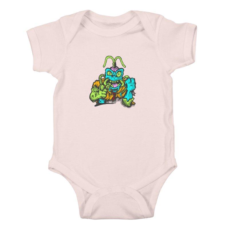 Scum Bug Kids Baby Bodysuit by Payback Penguin