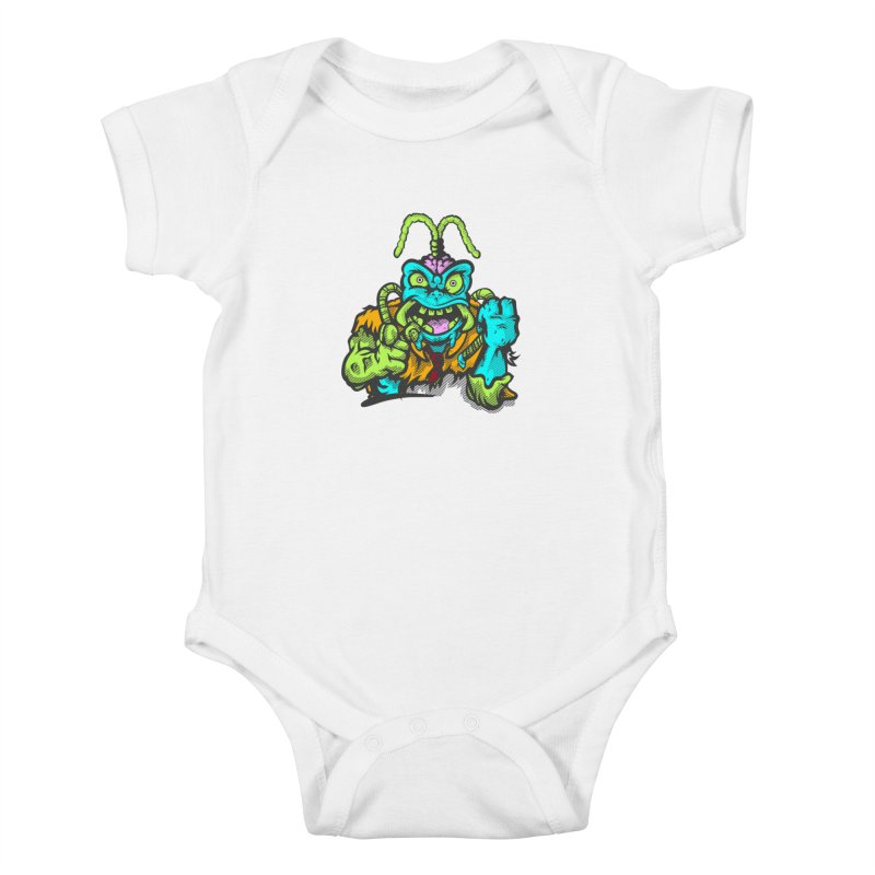 Scum Bug Kids Baby Bodysuit by Payback Penguin
