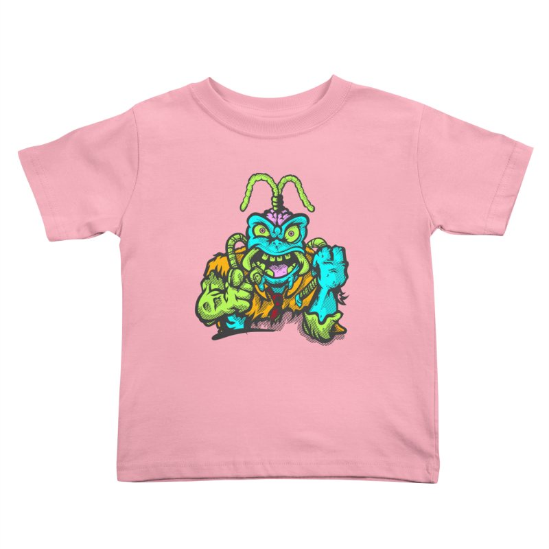 Scum Bug Kids Toddler T-Shirt by Payback Penguin