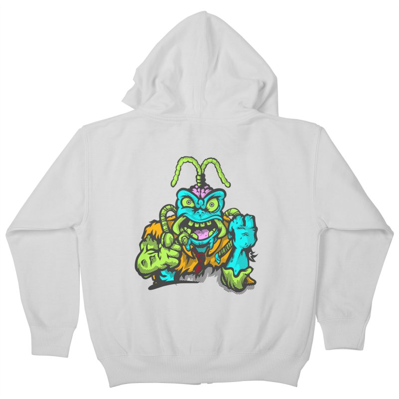 Scum Bug Kids Zip-Up Hoody by Payback Penguin