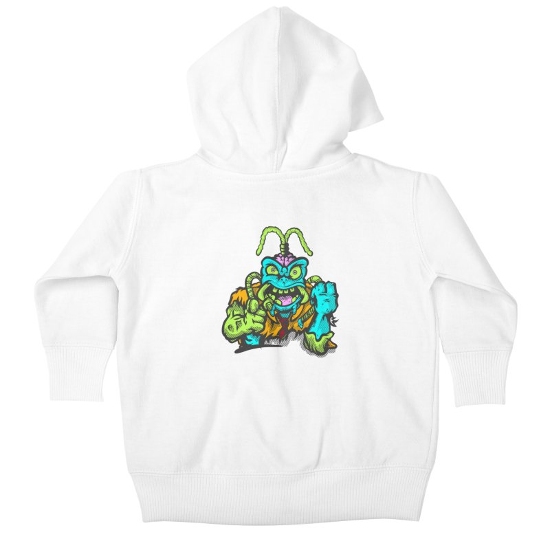 Scum Bug Kids Baby Zip-Up Hoody by Payback Penguin