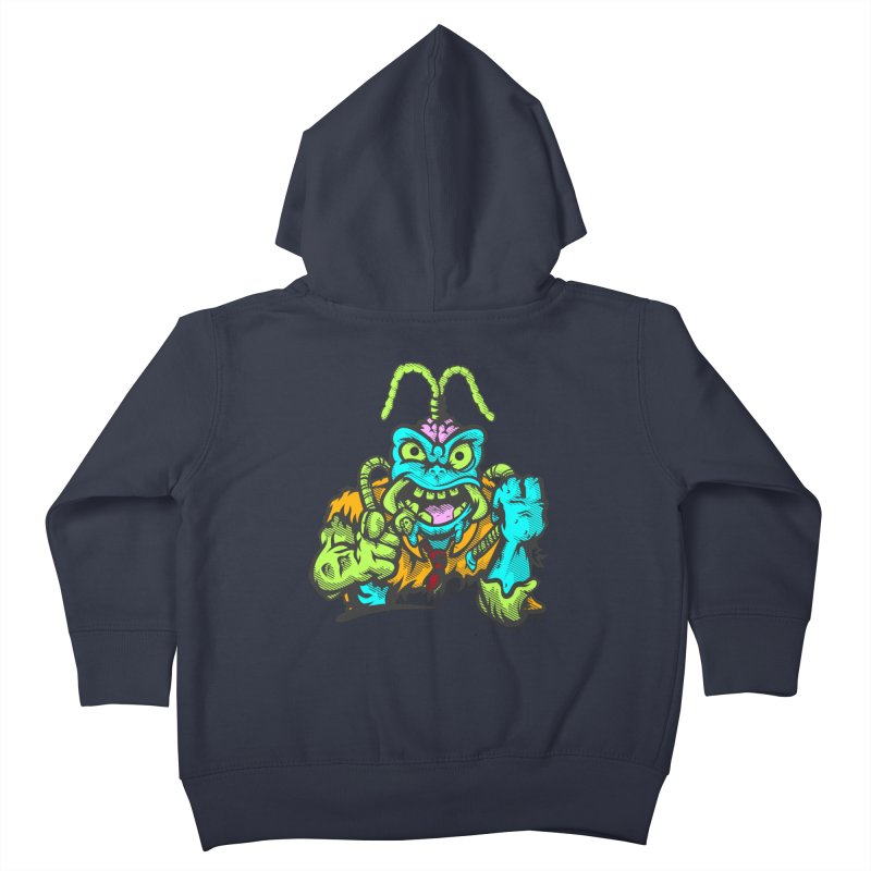 Scum Bug Kids Toddler Zip-Up Hoody by Payback Penguin