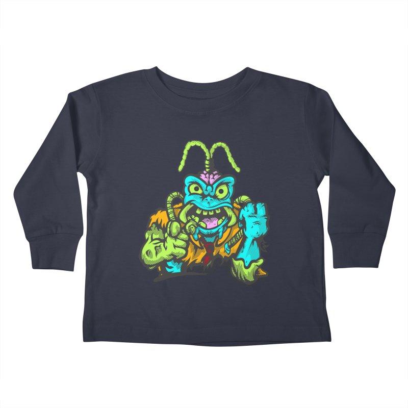 Scum Bug Kids Toddler Longsleeve T-Shirt by Payback Penguin