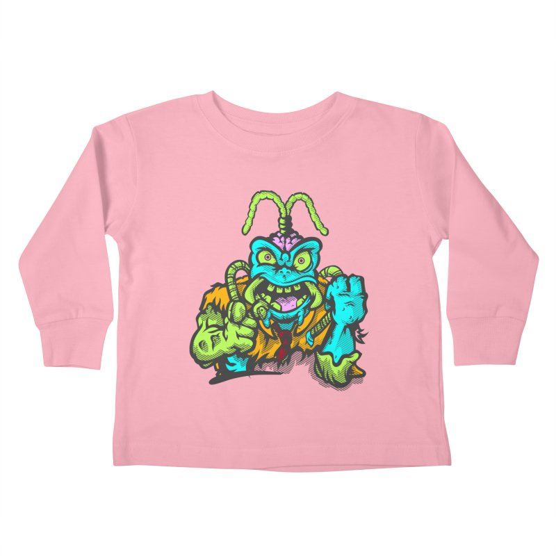 Scum Bug Kids Toddler Longsleeve T-Shirt by Payback Penguin