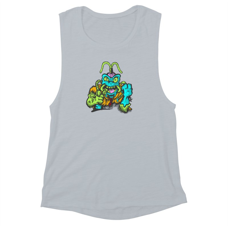 Scum Bug Women's Muscle Tank by Payback Penguin