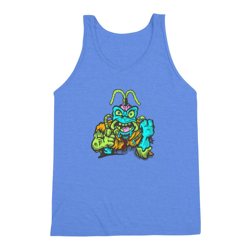Scum Bug Men's Triblend Tank by Payback Penguin