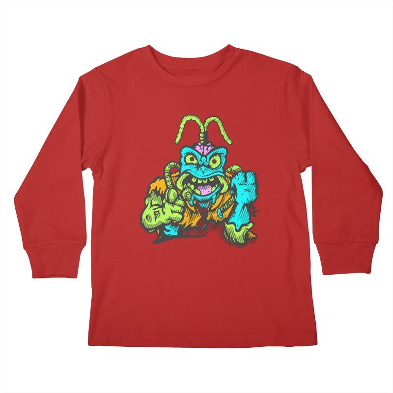 Scum Bug Kids Longsleeve T-Shirt by Payback Penguin