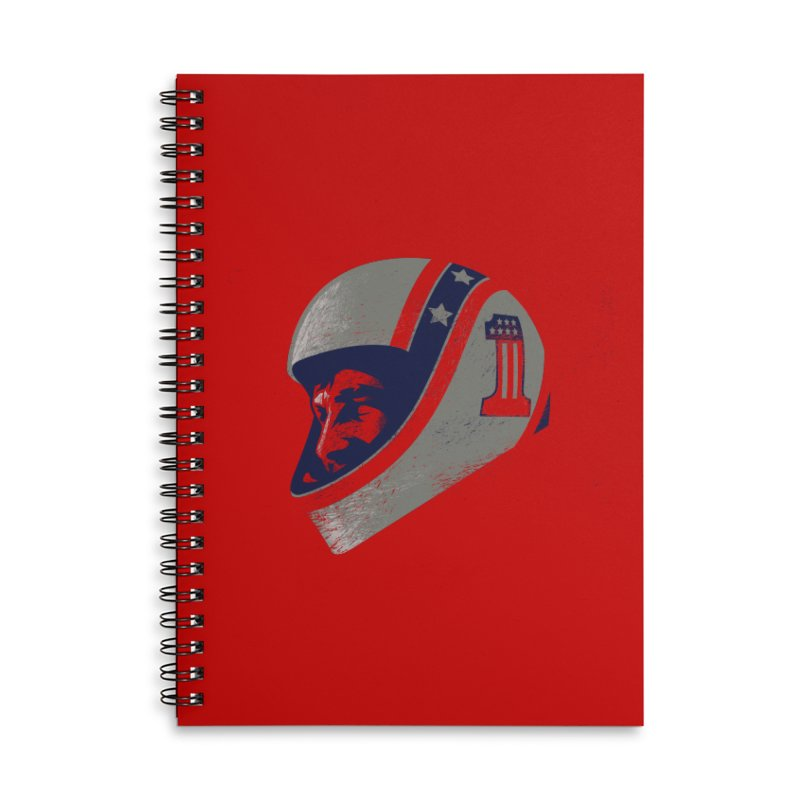 Stuntman Accessories Notebook by Payback Penguin