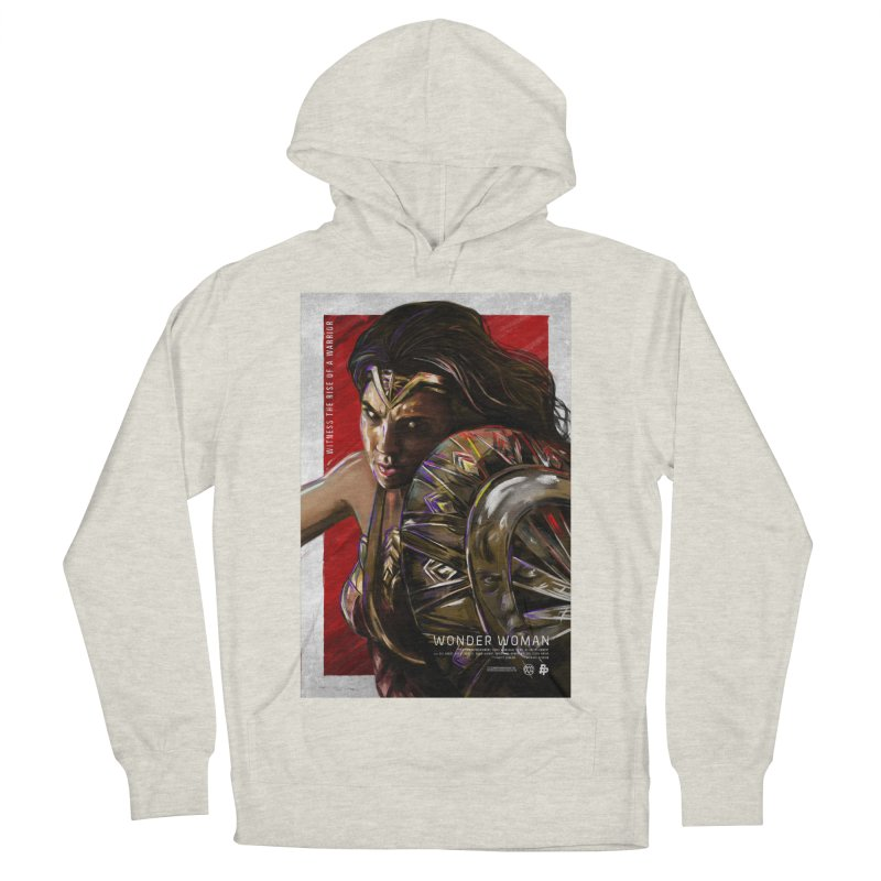 Wonder Woman (Red) Women's Pullover Hoody by Payback Penguin