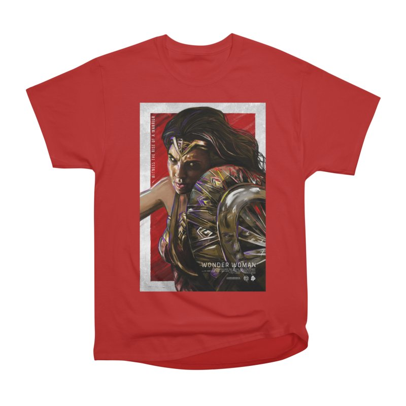 Wonder Woman (Red) Men's Classic T-Shirt by Payback Penguin