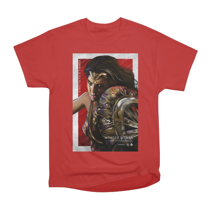 Wonder Woman (Red) Women's Classic Unisex T-Shirt by Payback Penguin