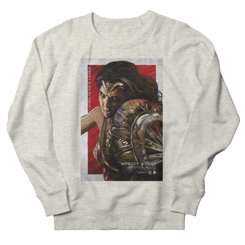 Wonder Woman (Red) Women's Sweatshirt by Payback Penguin