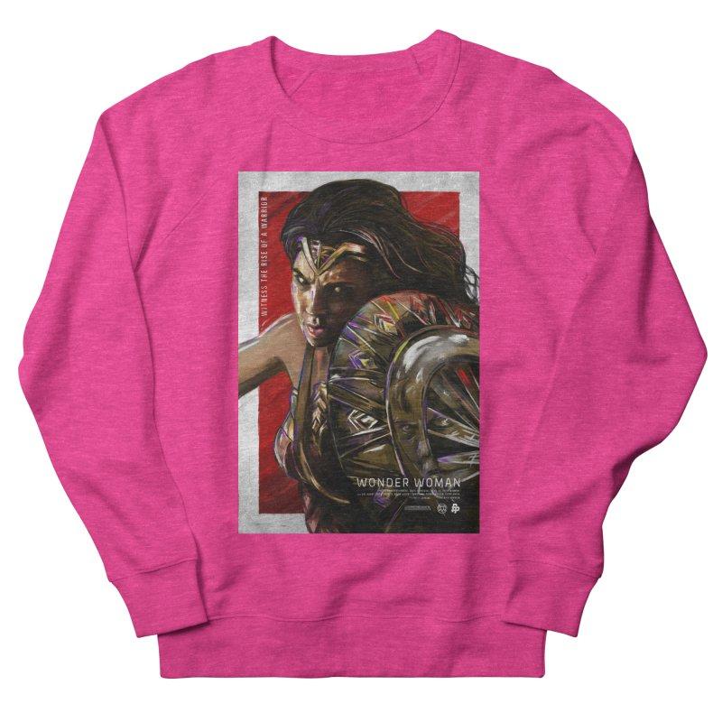 Wonder Woman (Red) Men's Sweatshirt by Payback Penguin