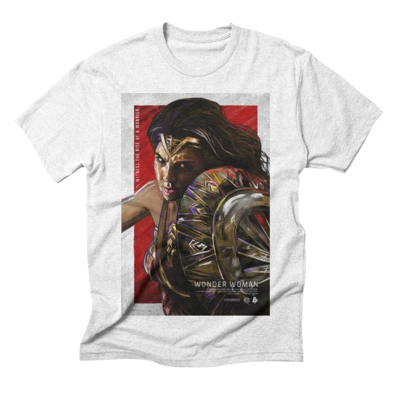 Wonder Woman (Red) Men's Triblend T-shirt by Payback Penguin