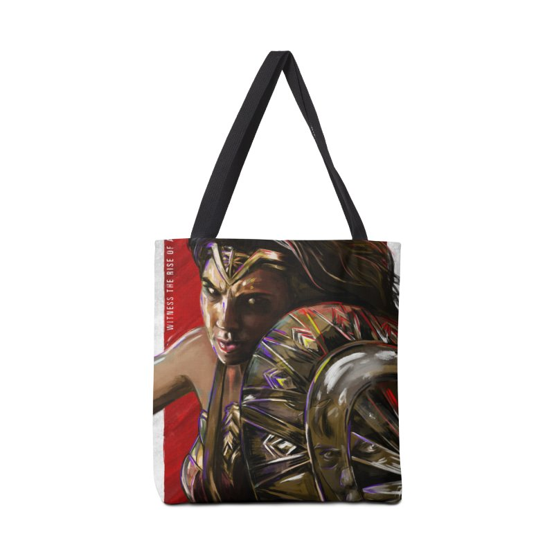 Wonder Woman (Red) Accessories Bag by Payback Penguin