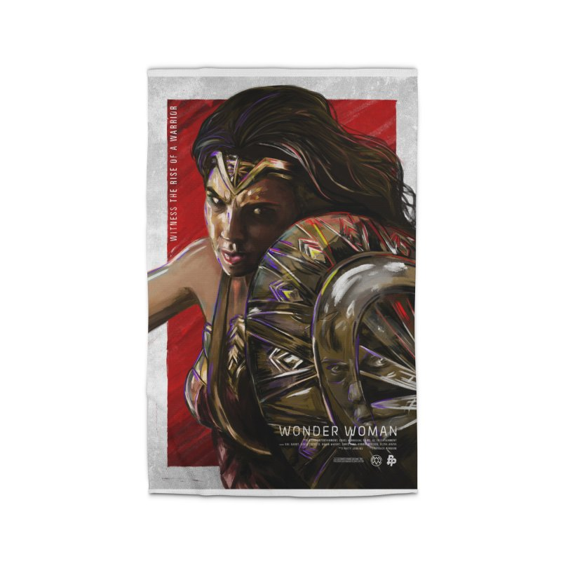 Wonder Woman (Red) Home Rug by Payback Penguin