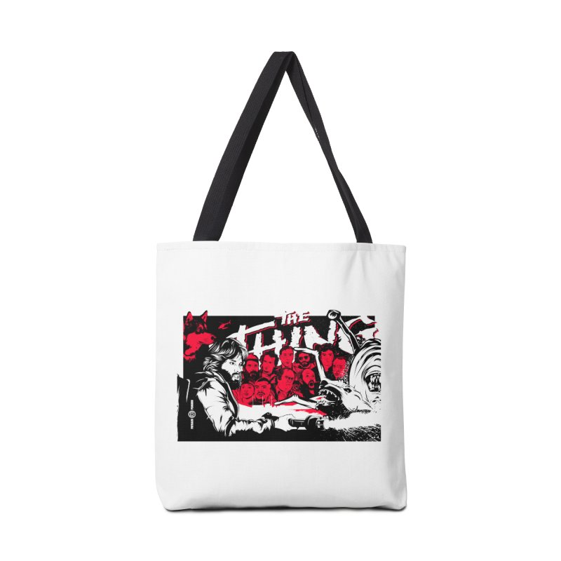 I Know I'm Human: Variant 1 Accessories Bag by Payback Penguin