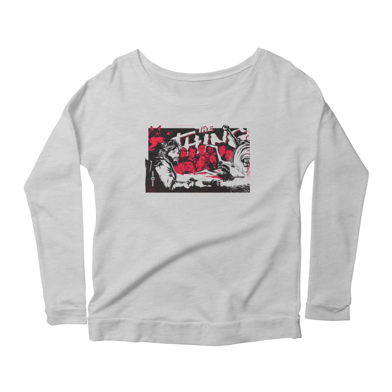 I Know I'm Human: Variant 1 Women's Scoop Neck Longsleeve T-Shirt by Payback Penguin