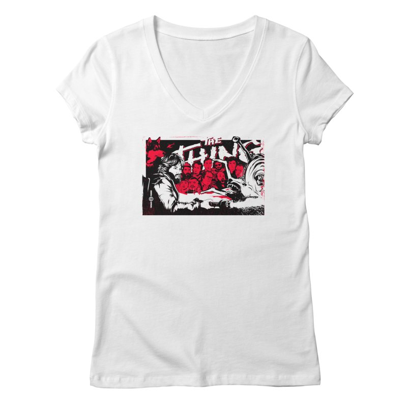 I Know I'm Human: Variant 1 Women's V-Neck by Payback Penguin