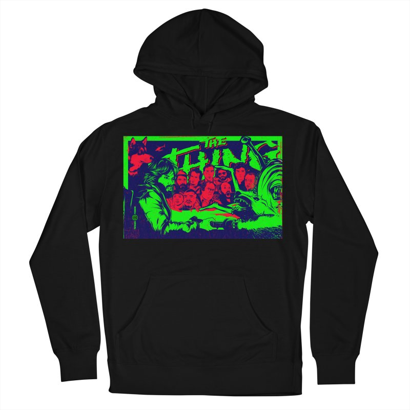 I Know I'm Human: Variant 2  Men's French Terry Pullover Hoody by Payback Penguin