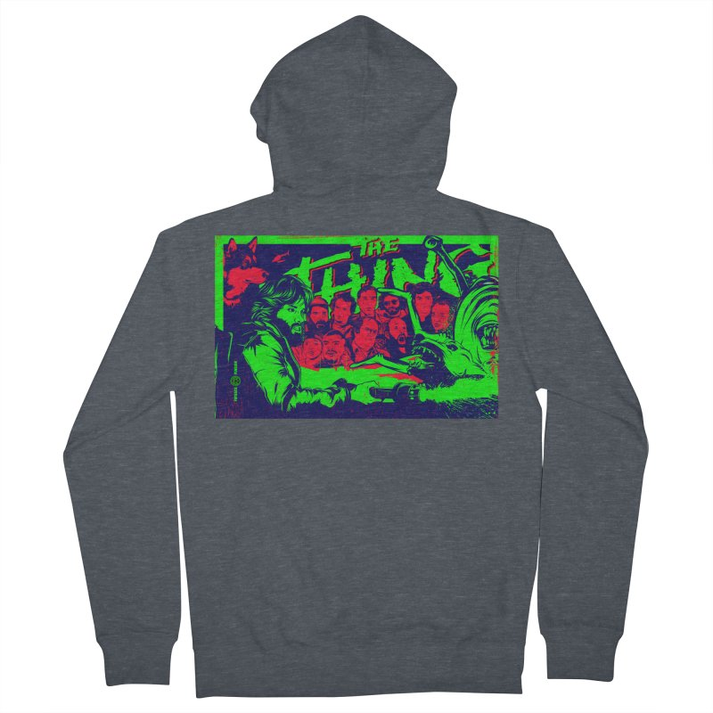 I Know I'm Human: Variant 2  Men's Zip-Up Hoody by Payback Penguin