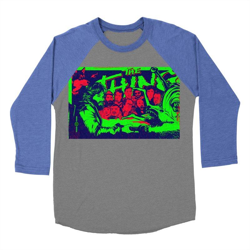 I Know I'm Human: Variant 2  Men's Baseball Triblend Longsleeve T-Shirt by Payback Penguin