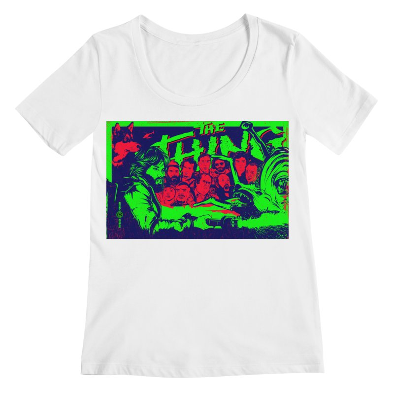 I Know I'm Human: Variant 2  Women's Regular Scoop Neck by Payback Penguin