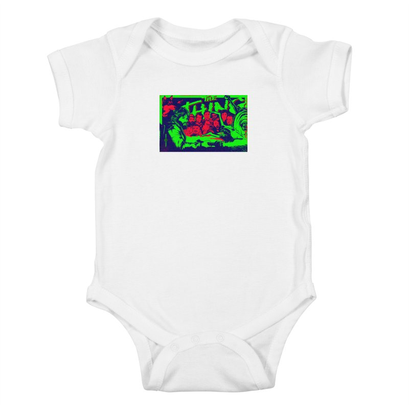 I Know I'm Human: Variant 2  Kids Baby Bodysuit by Payback Penguin
