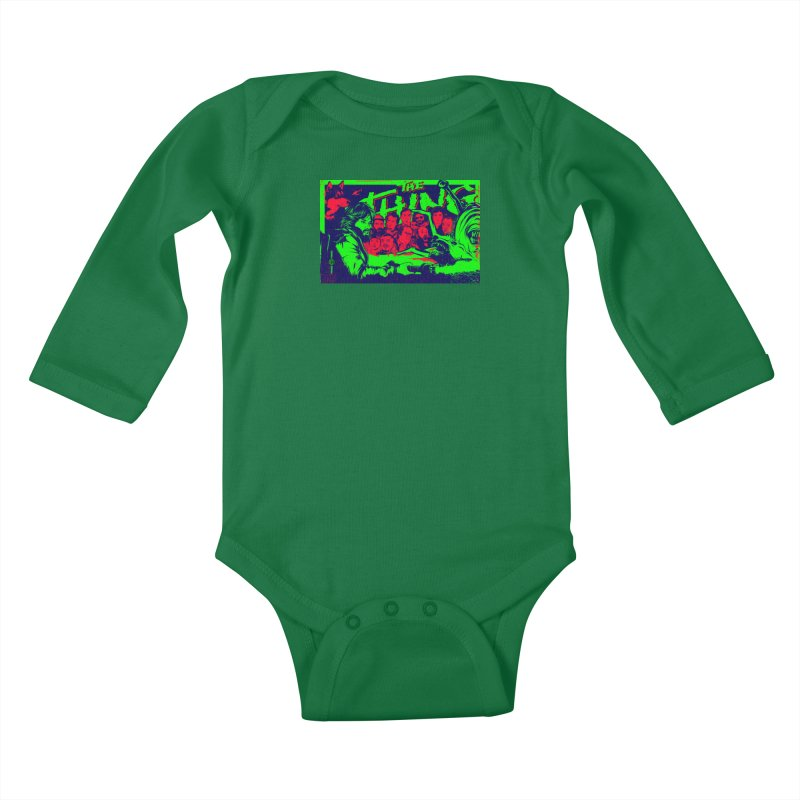 I Know I'm Human: Variant 2  Kids Baby Longsleeve Bodysuit by Payback Penguin