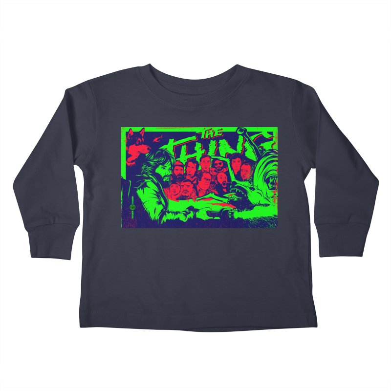 I Know I'm Human: Variant 2  Kids Toddler Longsleeve T-Shirt by Payback Penguin