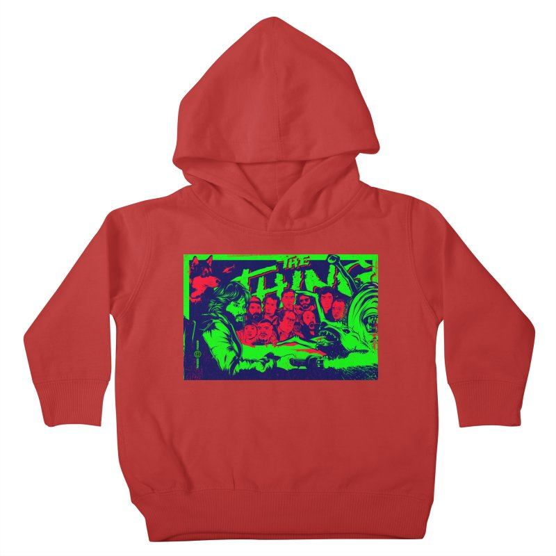 I Know I'm Human: Variant 2  Kids Toddler Pullover Hoody by Payback Penguin