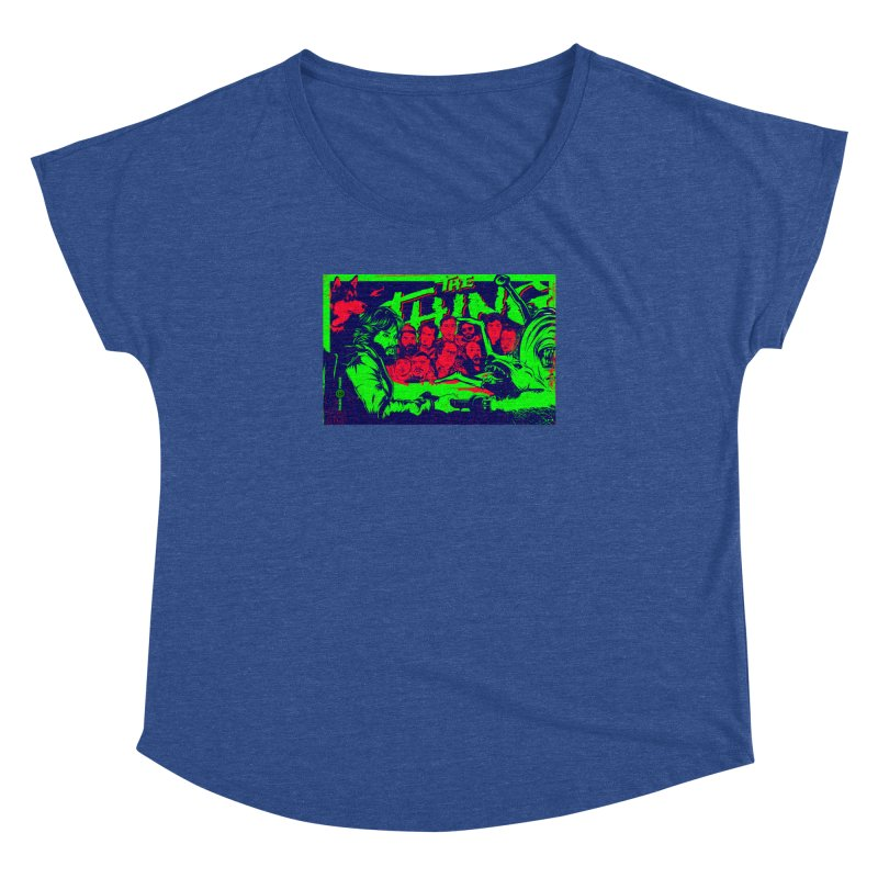 I Know I'm Human: Variant 2  Women's Dolman Scoop Neck by Payback Penguin
