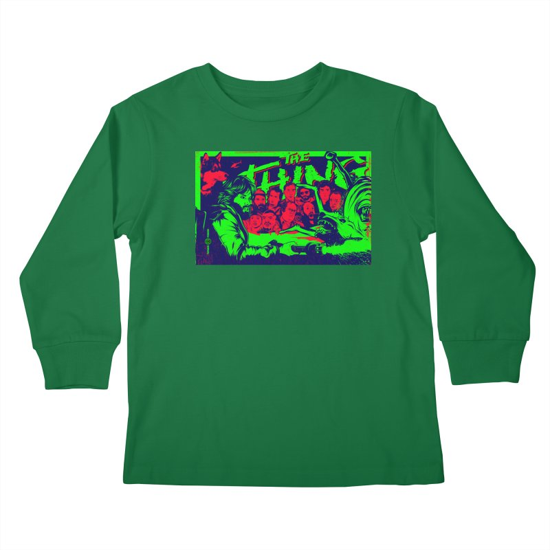 I Know I'm Human: Variant 2  Kids Longsleeve T-Shirt by Payback Penguin