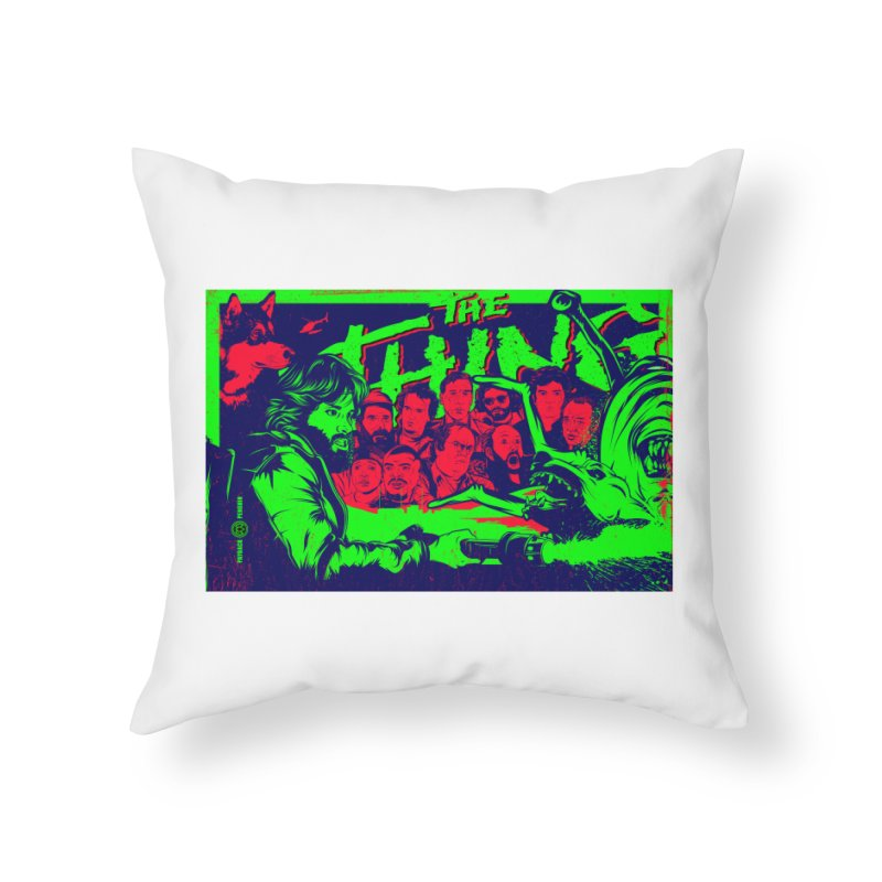 I Know I'm Human: Variant 2  Home Throw Pillow by Payback Penguin
