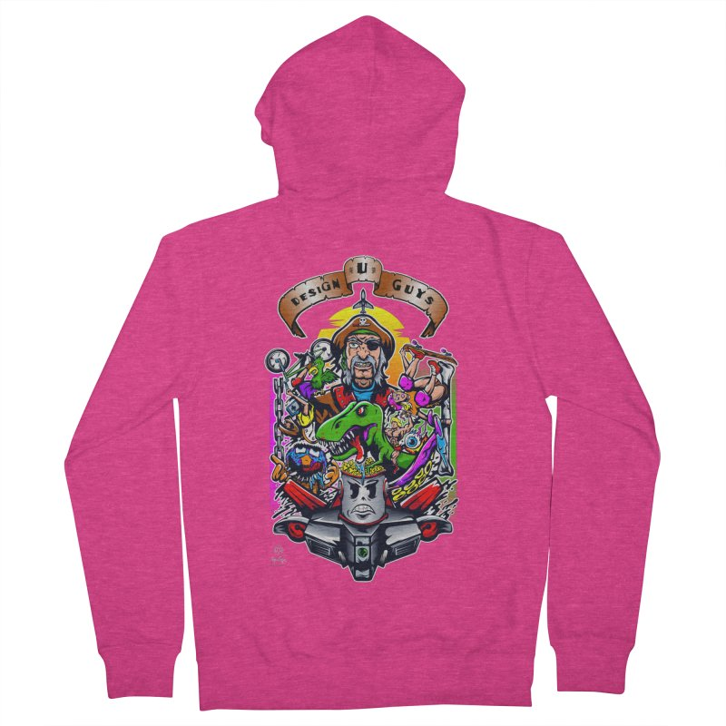 Design You Guys Women's Zip-Up Hoody by Payback Penguin