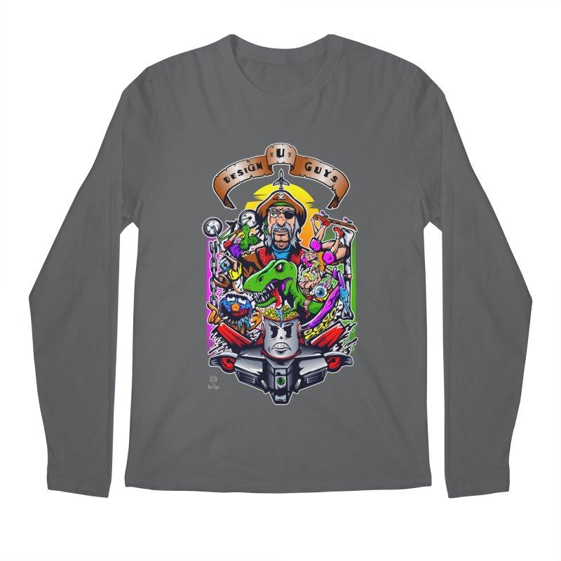 Design You Guys Men's Regular Longsleeve T-Shirt by Payback Penguin