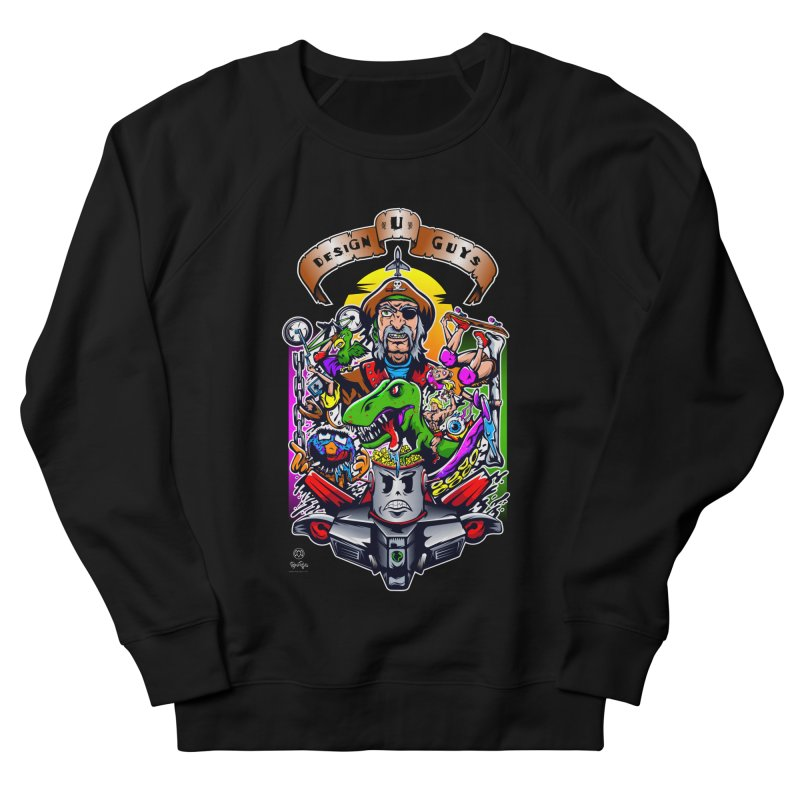 Design You Guys Men's French Terry Sweatshirt by Payback Penguin