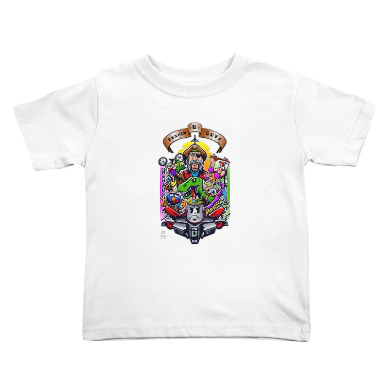Design You Guys Kids Toddler T-Shirt by Payback Penguin