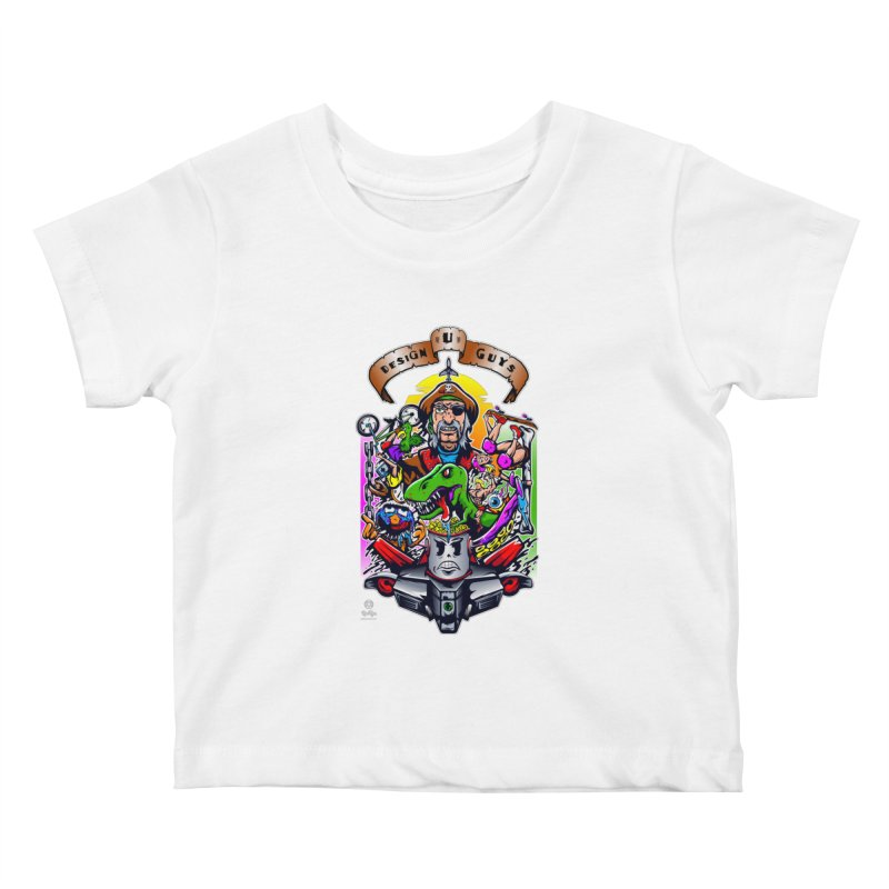 Design You Guys Kids Baby T-Shirt by Payback Penguin