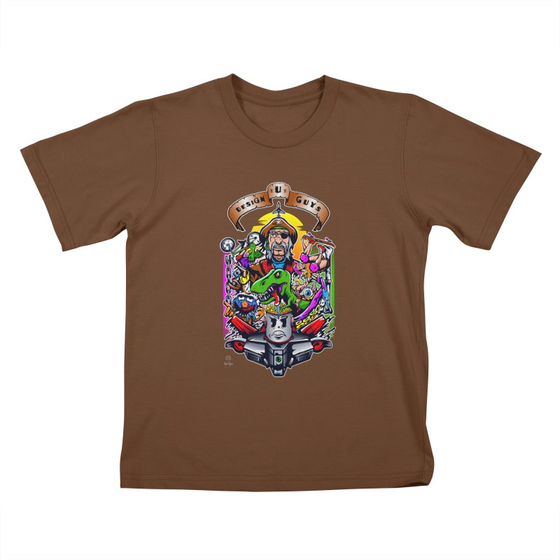 Design You Guys Kids T-shirt by Payback Penguin