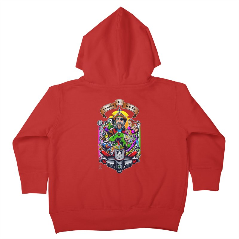 Design You Guys Kids Toddler Zip-Up Hoody by Payback Penguin