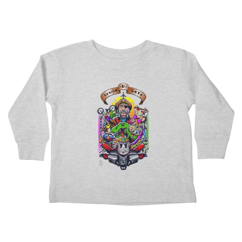 Design You Guys Kids Toddler Longsleeve T-Shirt by Payback Penguin