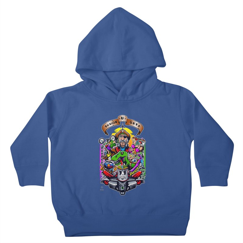 Design You Guys Kids Toddler Pullover Hoody by Payback Penguin