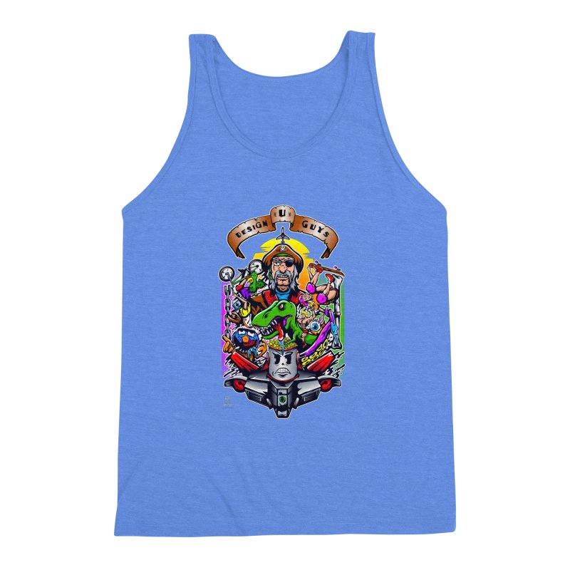 Design You Guys Men's Triblend Tank by Payback Penguin